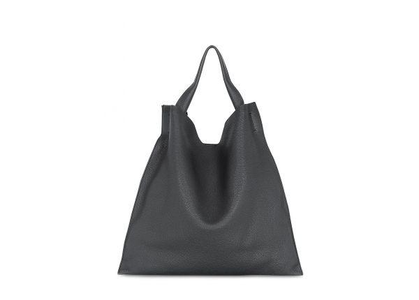 e9ed8b1a3460 Кожаная женская сумка черная POOLPARTY Bohemia купить в интернет ...